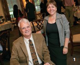 Bob Thomas and Jessica Rodgers